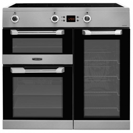 Leisure_Cooker_CS90D530X_StainlessSteel_FrontClosed