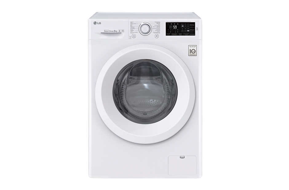 Lg f4j5tn3w wasmachine 8kg 1400t elektro witgoed for Migliori lavatrici 2017